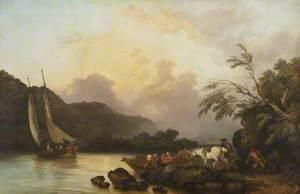 Belle Isle, Windermere, in a Calm