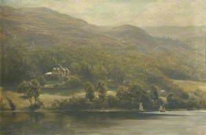 Brantwood from the Lake