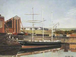 'Captain Scott' in Whitehaven Harbour