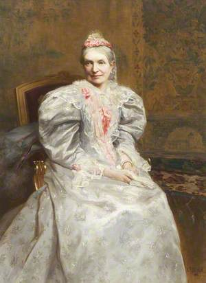 Mrs William Bindloss, née Kitching (1821–1894)