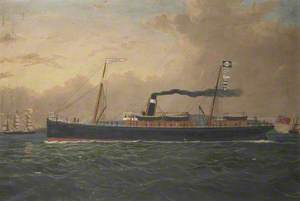 SS 'Yarrow' of Glasgow off Baily