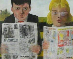 Children Reading Comics