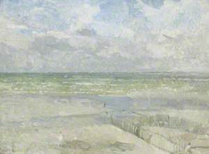 The Coast of Normandy at Le Touquet