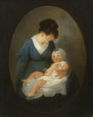 The Artist's Wife and Child