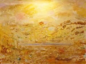 Golden Landscape with Pain