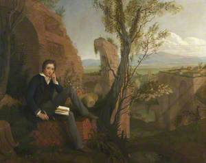 Shelley Composing 'Prometheus Unbound' in the Baths of Caracalla