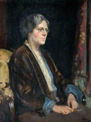 Bertha Linnell, Headmistress of Frognal School