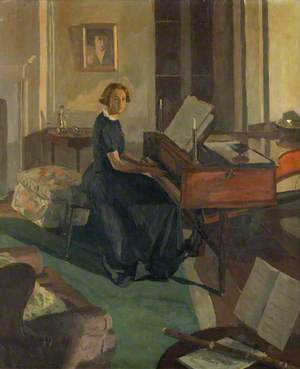 Alice Ashley at a Piano