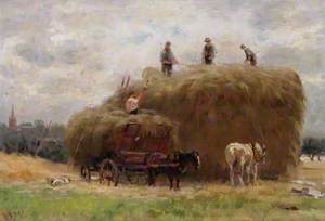 Haymaking, Parliament Hill