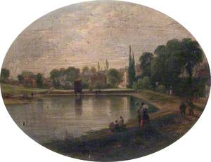 Lower Heath Pond, Hampstead