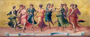 Dance of Apollo and the Muses