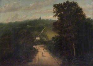 Hampstead from the Kilburn Road