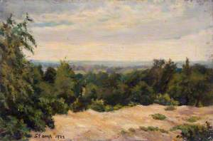 Hampstead Heath, Looking towards London