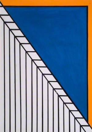 Blue/Orange Geometric