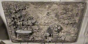 Wooded Landscape with Pan and an Ape