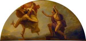 Epimetheus Receiving Pandora