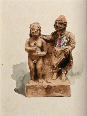 Clay Figures in the Form of Votive Offerings Made for Physical Health and Well-Being