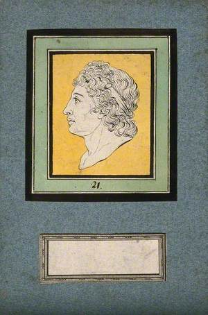 The Head of Apollo, His Physiognomy Having Metamorphosed from That of a Frog