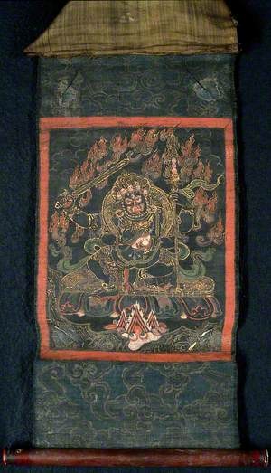 The Four-Handed Mahākāla as the Protector of Knowledge