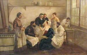 An Episode at the Hôpital Saint-Lazare, Paris