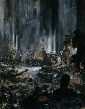 First World War: A Church Transformed into a Military Hospital