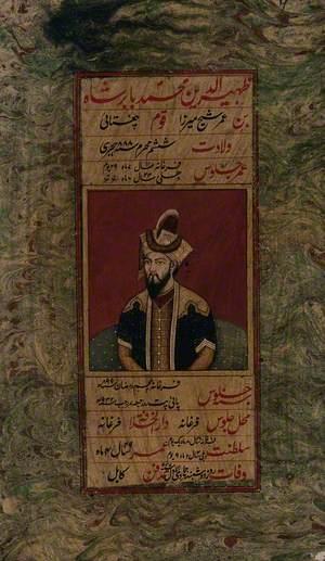 Zahīr Al-Dīn Muhammad Bādshāh Bin Amir Shaykh Mīrza Qūm Chaghatā'ī