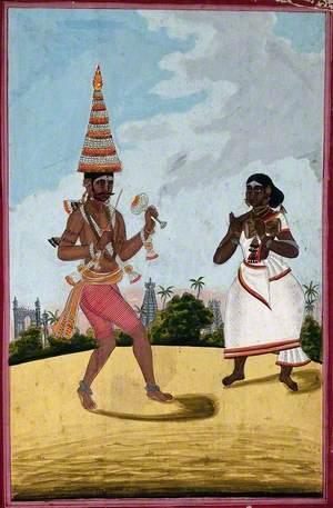 A Pandaram or Malabar Ascetic