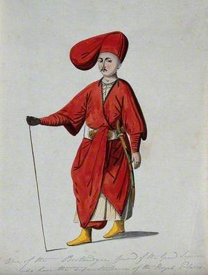 A Turkish Guardsman