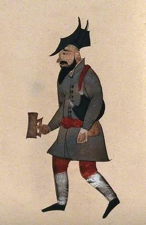 A Man Carrying a Tankard