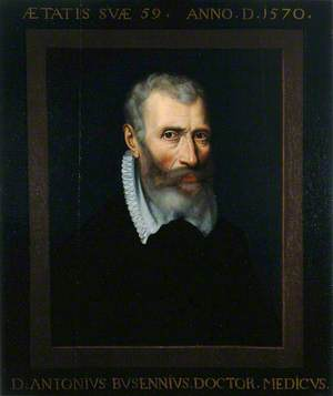 Antonius Busennius, Professor of Medicine at Louvain (1548–1550), City Physician of Antwerp, Medical Humanist