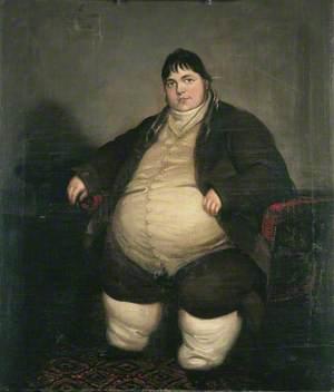Daniel Lambert (1770–1809), Weighing almost 40 Stone