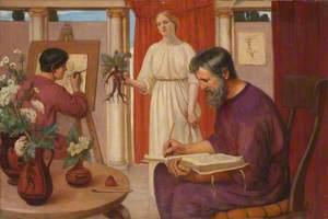 Dioscorides Describing the Mandrake