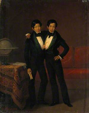 Chang and Eng, the Siamese Twins