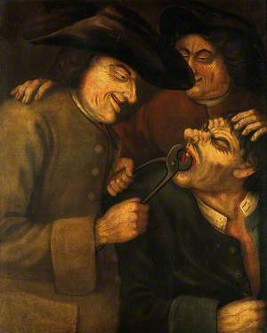 A Blacksmith Extracting a Tooth