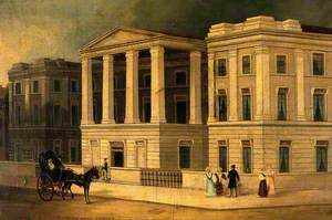 New St George's Hospital, Hyde Park Corner, London