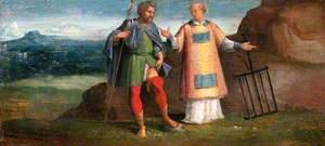 Saint Roch and Saint Laurence