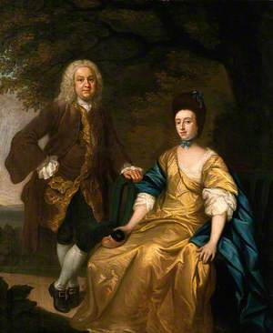 Benjamin Hoadly and His Wife