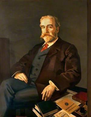 Sir John Young Walker MacAlister (1856–1925), Librarian and Secretary, Royal Society of Medicine, London