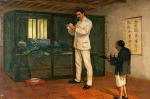 Sir Patrick Manson (1844–1922), Experimenting with Filaria sanguinis hominis in Amoy (Xiamen), China