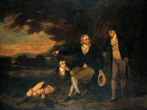 Edward Jenner Advising a Farmer to Vaccinate His Family
