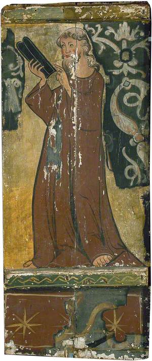 An Evangelist (Saint Mark?) Holding a Book, Whole-Length to the Left