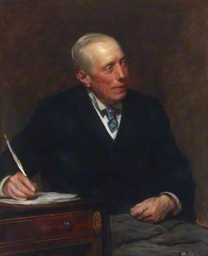 James C. N. White, Chairman of the Governing Body and Treasurer of Birkbeck College