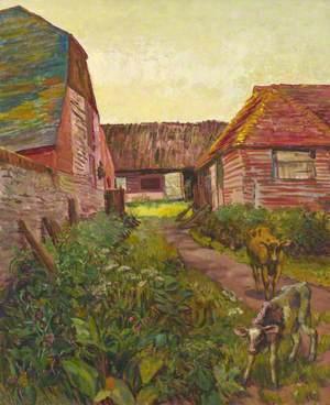 Farmyard Buildings at Charleston, Sussex
