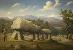 The Double Cromlech at Plas Newydd, Anglesey