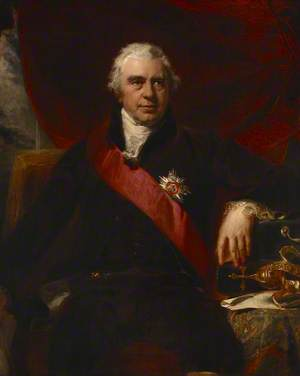 Sir Joseph Banks (1743–1820), President of the Royal Society, Trustee of the British Museum