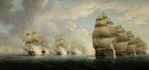 The Action off Pulo Aor, 15 February 1804
