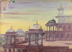 'Sikundra. Agra. India. April 1878'