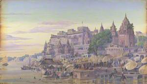 'Benares. India. October 23d 1878'