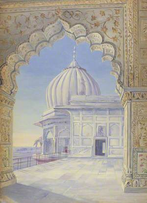 'The Palace. Delhi. India. Novr. 1878'