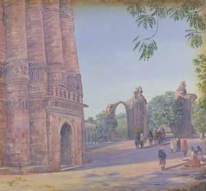'The Kutub. Delhi. India. Novr. 1878'